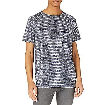 LTB Jeans Poyibe T-Shirt, Navy White Stripes 4300, L Men's