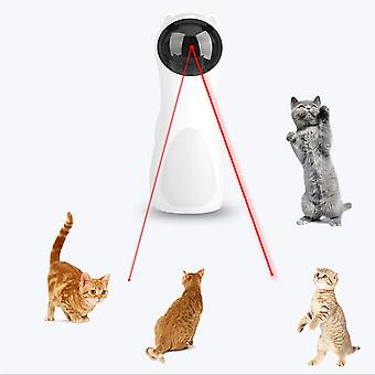 Adjustable Automatic Cat Toys Interactive Smart Teaser LED Laser Funny Electronic Pet