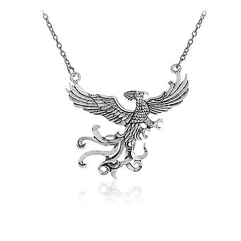 Harry Potter Phoenix Long Sweater Pendant Necklace