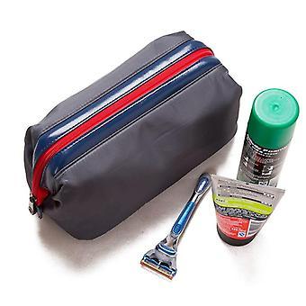 1pc New Men Travel Cosmetic Makeup Organizer Donne Impermeabile Lavaggio Rasatura Cerniera Cosmetica Borse