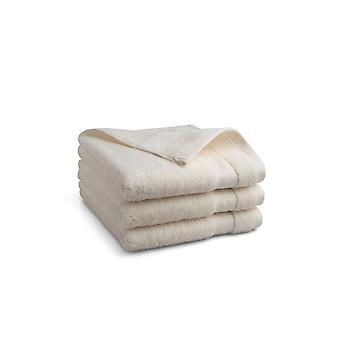 Seashell Hotel Collectie Handdoek - Crème - 3 stuks - 50x100cm