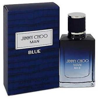 Jimmy Choo Man Sininen Jimmy Choo Eau De Toilette Spray 1 Oz (miehet)