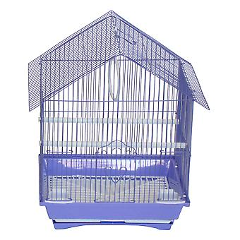 """Yml A1114Mpur House Top Style Small Parakeet Cage, 11"""" X 9"""" X 16"""""""