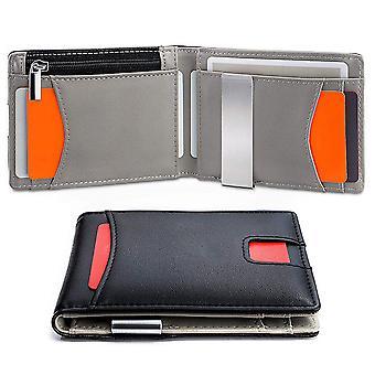 Kreativní RFID pánská PU peněženka