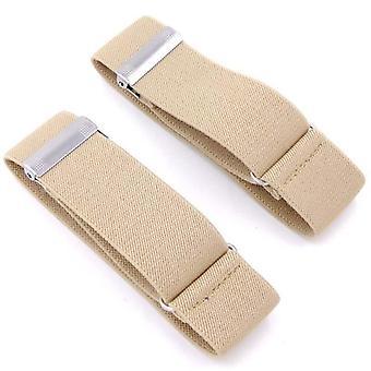 Elastische verstellbare Hemd Ärmel Strumpfband Riemen Armband Ärmel Manschettenhalter