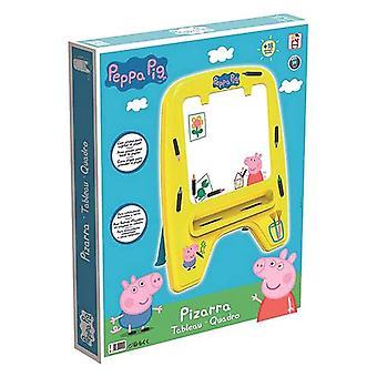 Magic Blackboard Chicos Peppa Pig Keltainen (59 x 33 x 75 cm)