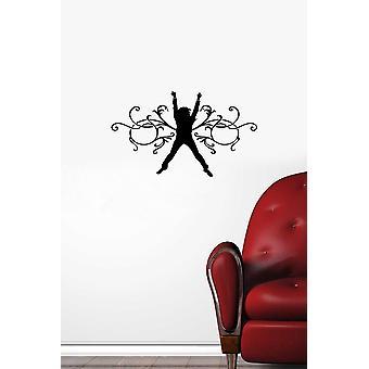 KBS-089 Black Decorative Wall Sticker