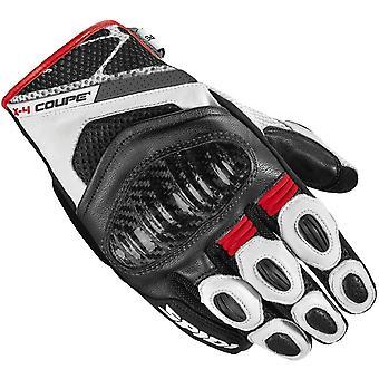 Spidi X4 Coupe CE-handskar svart/vit/röd [C80-014]
