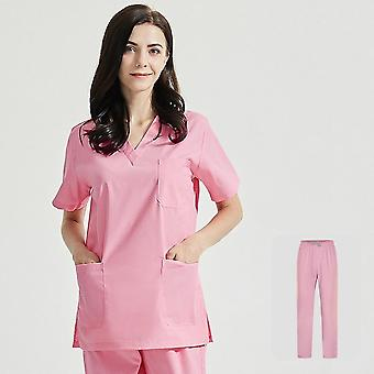 Polyester Coton Couleur Unie Uniforme