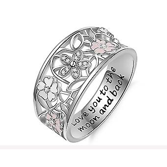 Romantische sieraden vrouwen mode trouwringen(7)