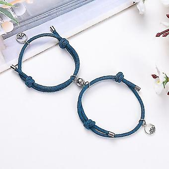Creative Couple Bracelet(Navy)