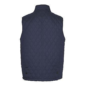 Champion Herre Country Estate Ashby Diamond Quilt Bodywarmer - Navy - Xl