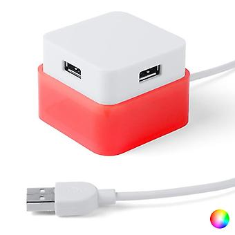 4-Port USB Hub 144635 Bicoloured 144635