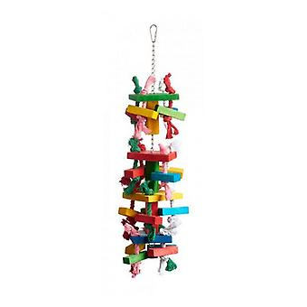 """Prevue Bodacious Bites Tower Bird Toy - 1 Pack - (6""""L x 6""""W x 21""""H)"""