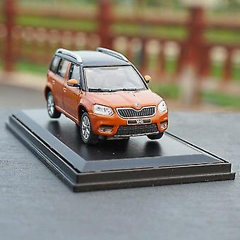 Toy cars 1:43 skoda yeti city edition alloy model simulation collection christmas gift die cast metal car model