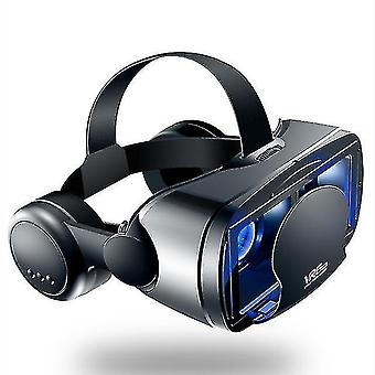 3D glasses vr shinecon bluetooth virtual reality 3d glasses headset for ios and android vr bo 5.0-7.0 Inch