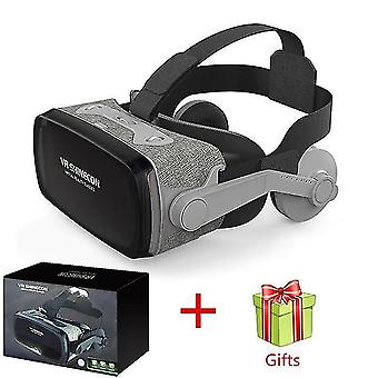 2019 Shinecon casque 9.0 vr virtuaalitodellisuuslasit 3d lasit google pahvi vr kuulokekotelo