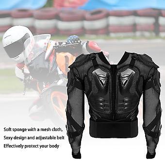 オートバイ モータークロス レーシング フル ボディ アーマー スパイン チェスト プロテクティブ ジャケット