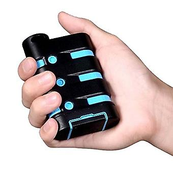 i-Blason-PowerSport 9000 mAH Portable Rugged USB Charging Power Bank- Blue