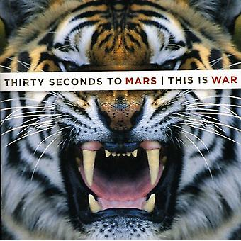 30 Seconds to Mars - This Is War [CD] USA import