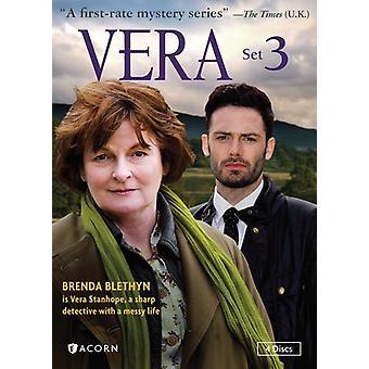 Vera - Vera, sæt 3 [DVD] USA import