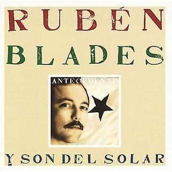 Ruben Blades - Antecedente [CD] USA import