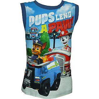 Pojkar Paw Patrol ärmlös T-Shirt