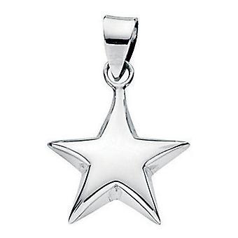 925 Silver Stars Pendant Necklace