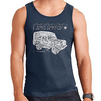 Haynes Workshop Manual Land Rover Camo zwart Vest voor mannen