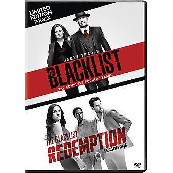 Musta lista: Ssn neljä / Blacklist lunastus: Ssn 1 [DVD] USA tuonti