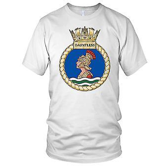Royal Navy HMS Dauntless Ladies T Shirt