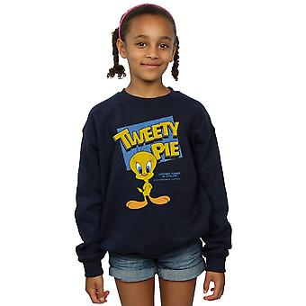 Looney Tunes Girls Classic Tweety Pie Sweatshirt