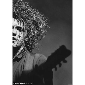 Cure Silhouette Robert Smith Poster Poster Print