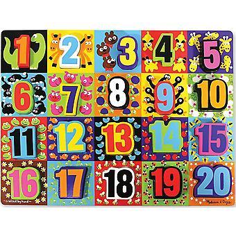 Melissa & Doug Jumbo robustný učenia puzzle