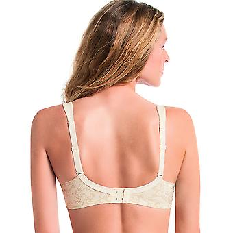 Anita Comfort 5861-709 Women's Ancona Ivory Off White Floral Non-Wired Comfort Bra