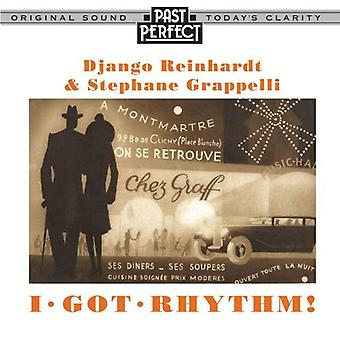 I Got Rhythm: Reinhardt i Grappelli Europejskiej Jazz Audio CD