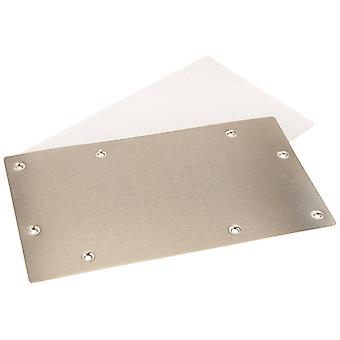 Robelle 12882 Stainless Steel Widemouth Winter Face Plate