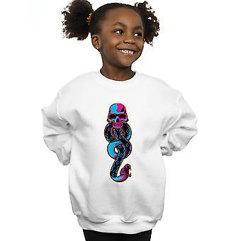Harry Potter Girls Neon Dark Mark Sweatshirt