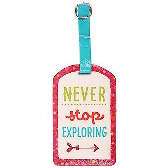 Farklı Bir Şey Bagaj Etiketi keşfetmek asla durmayın