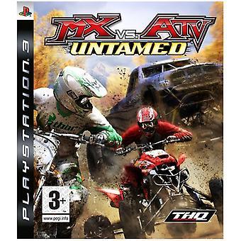 MX vs. ATV Untamed (PS3) - New