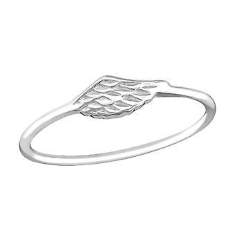Wing - 925 Sterling Silver Plain Rings - W37229x