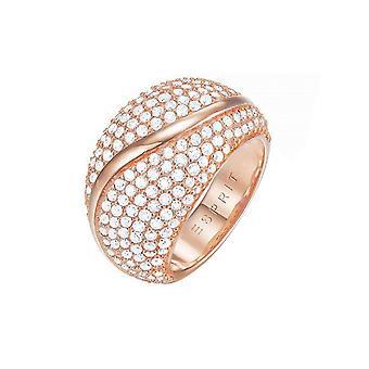 ESPRIT ladies ring brass Rosé Atropia ESRG02844C1