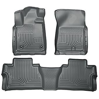 Husky Liners Front & 2nd Seat Floor liner passer 14-18 Tundra CrewMax Cab