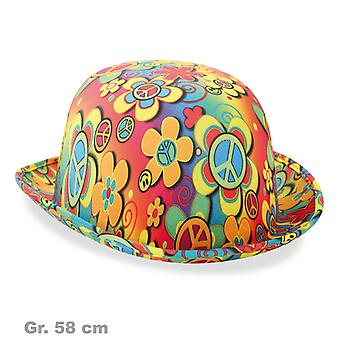 Dinnye Hippie hat 60-as évek Flower Power