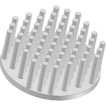 Fischer Elektronik ICK S R 50 x 20 Heat sink (pins) 8.55 K/W (Ø x H) 50 mm x 20 mm