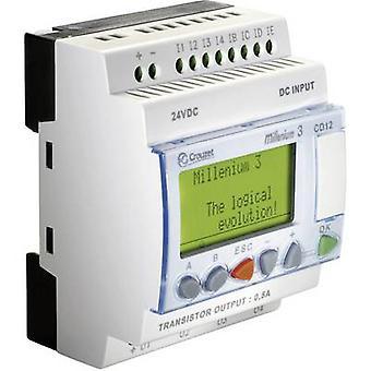 Crouzet 88970042 Millenium 3 CD12 S PLC controller 24 V DC