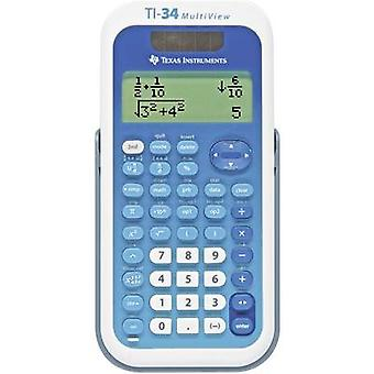 Texas Instruments TI-34 MULTIVIEW CAS calculator White, Blue Display (digits): 16 solar-powered, battery-powered (W x H x D) 80 x 19 x 158 mm