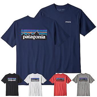 Patagonia Men's T-Shirt P-6 Responsibili logo tee