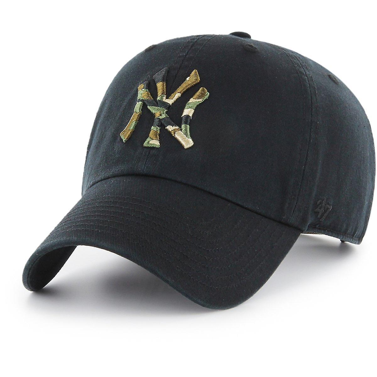 47 ogień regulowane Cap - CAMOFILL New York Yankees czarny