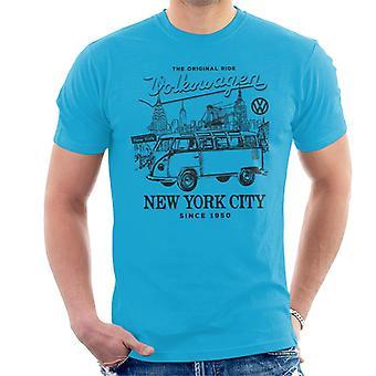 Official Volkswagen Camper New York City Men's T-Shirt